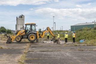 Ground Investigations - Northern Landing Site - 3